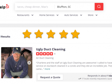 The Best 10 Air Duct Cleaning Near Bluffton, SC Yelp Review